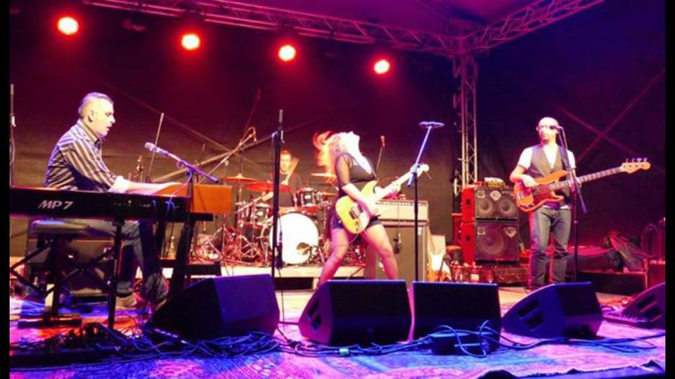 Eliana Cargnelutti Blues Rock Band Electric Woman IMAGE