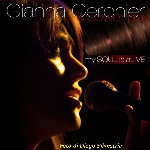 Gianna Cerchier Blues R&B Soul Motown Sound Tribute Band Power Play IMAGE